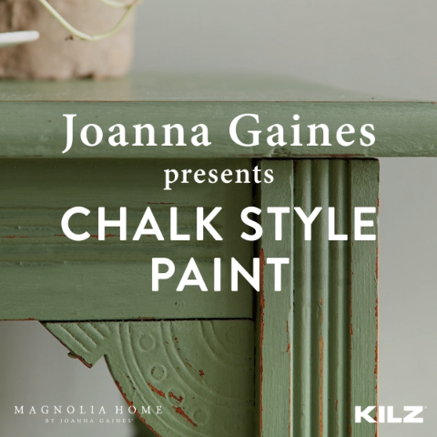Chalk Style Paint | Magnolia Home by Joanna Gaines