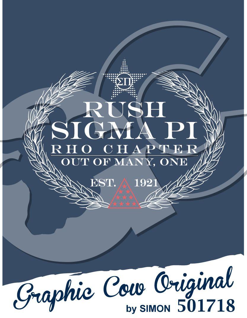 Rush Sigma Pi #rush #grafcow