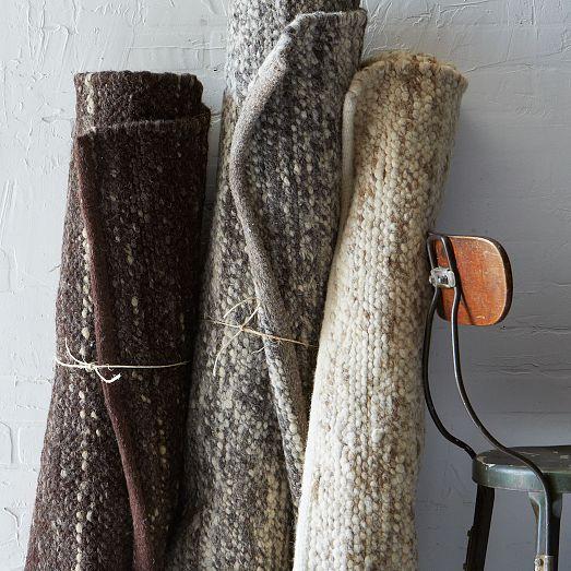 Sweater Rug Oatmeal West Elm Modern Wool Rugs Wool Rug Rugs
