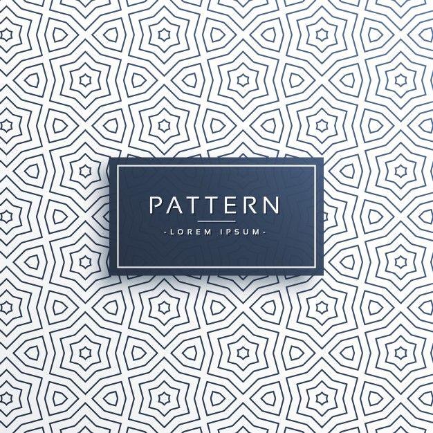 Conception de fond de motif de ligne en style abstrait | Patterns ...