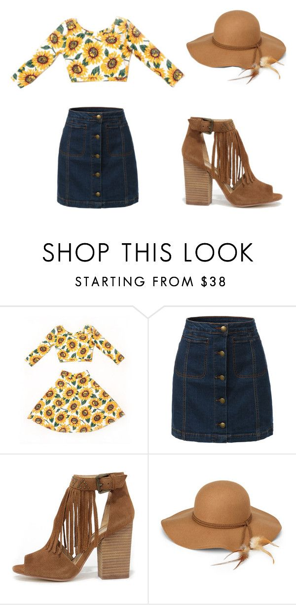 """""""Sunny Day"""" by marz-kij00 on Polyvore featuring LE3NO, Chinese Laundry, Steve Madden, sunnyday and cheerful"""