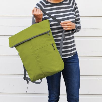 Fold Away Backpack - Clever Girl. Find this Pin and more on Design - Bags  ... a7c33ddc9d5dd