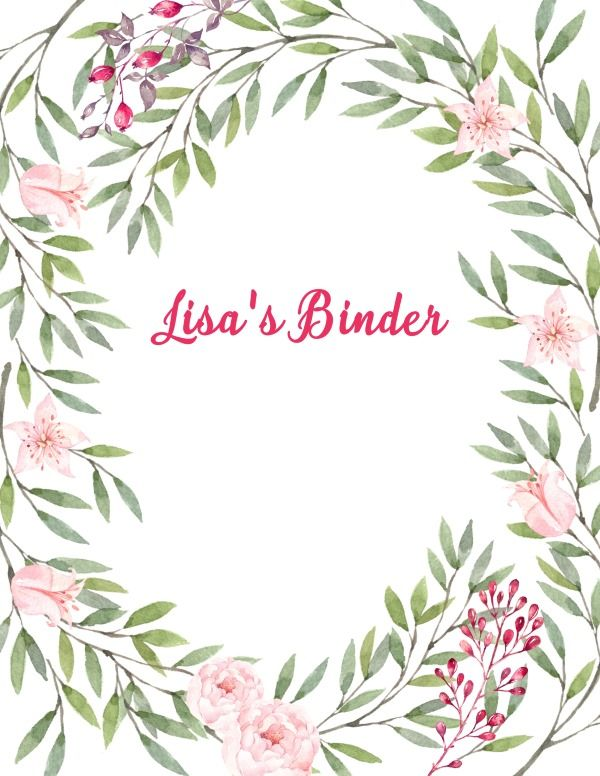 Free Binder Cover Templates Clip Art Binder cover templates