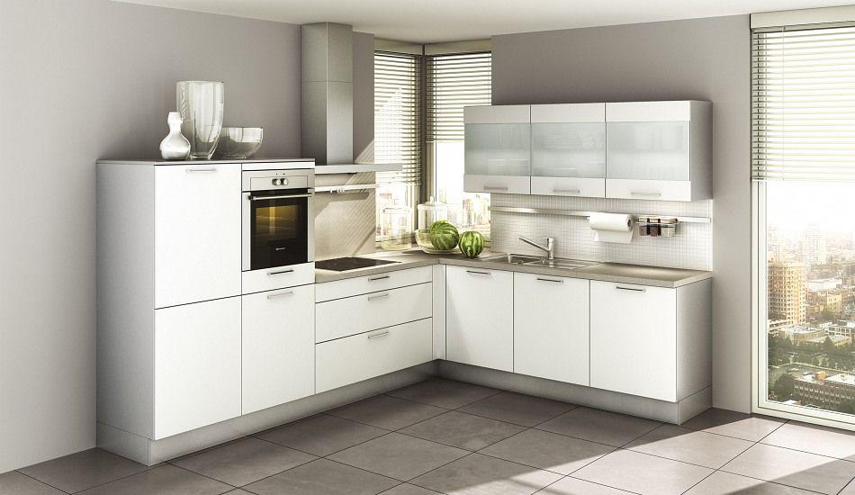 Einbauküche Girasol Polarweiß