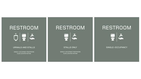 Restroom Signage The Cooper Union Restrooms Signage Gender Neutral Bathroom Signs Bathroom Signage