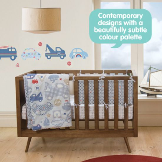 Travel Bug Cot Quilt | Baby Bedding @ Chicos