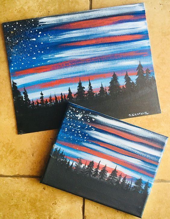 43+ Easy DIY Painting Ideas that'll Inspire Your (hidden) Inner Artist #easypaintings