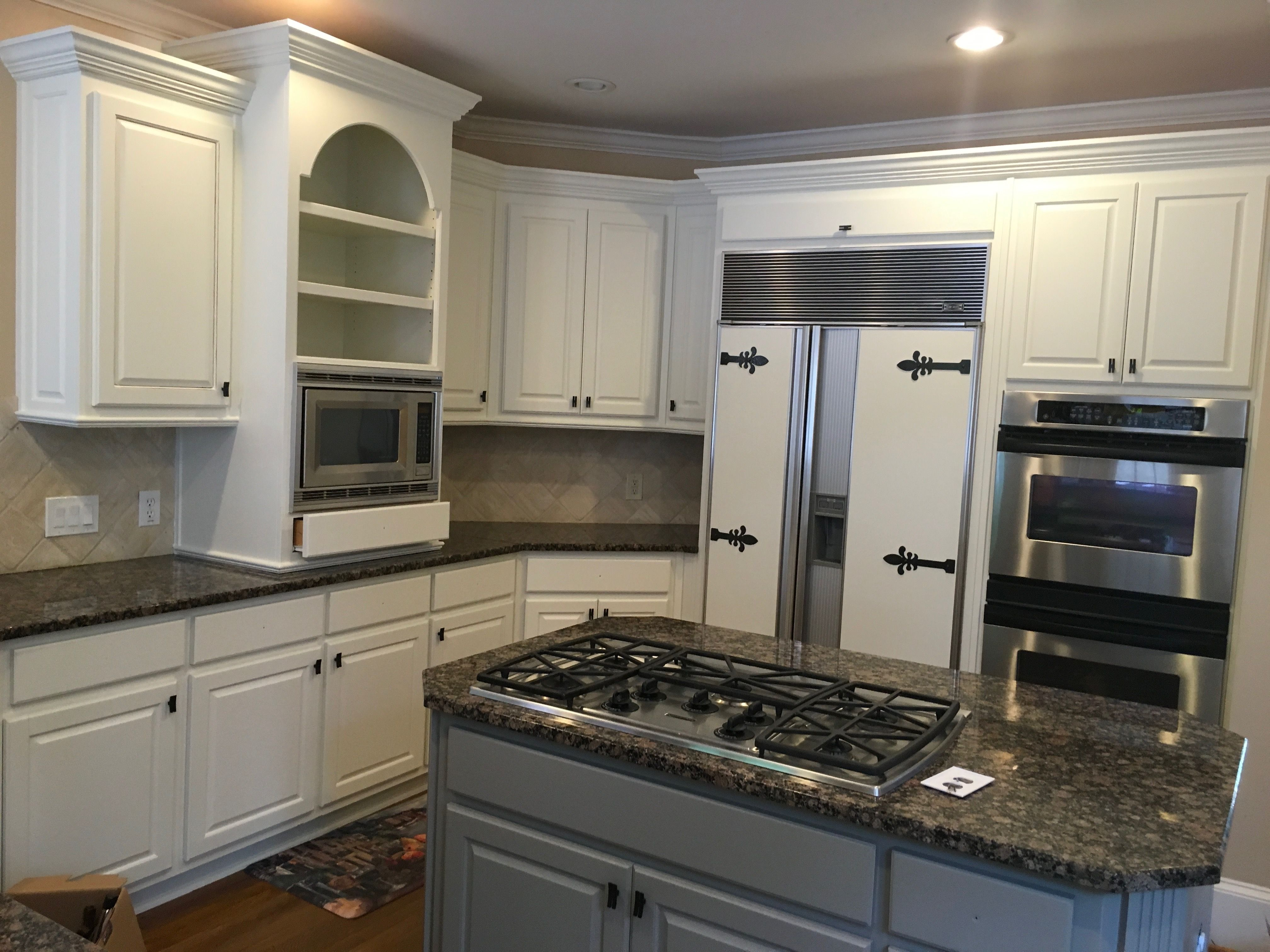 Kitchen Cabinet Rehab SW Dover White | Kitchen cabinets ...