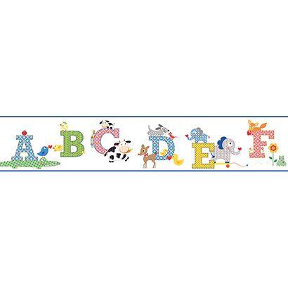 Cool Kids Alphabet Wallpaper Border Ks2207bd Alphabet Wallpaper Alphabet For Kids York Wallpaper