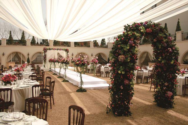 The raum wedding artcenter 웨딩셋팅