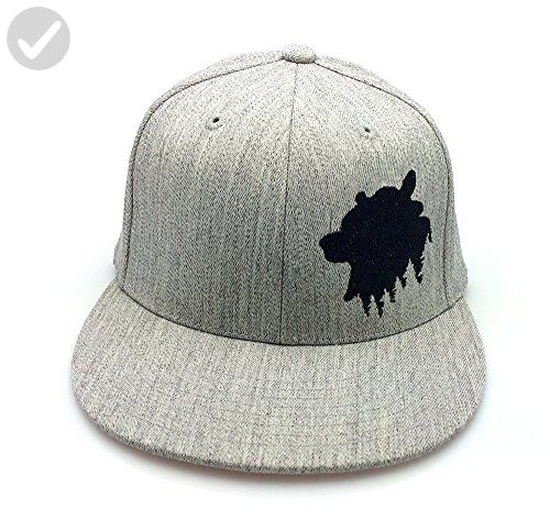 Men S Hat Angry Bear Men S Fitted Amp Snapback Options