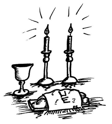 gallery for u003e shabbat table clipart shabbos inspiration pinterest rh pinterest com shabbat shalom clipart clipart shabbat candles