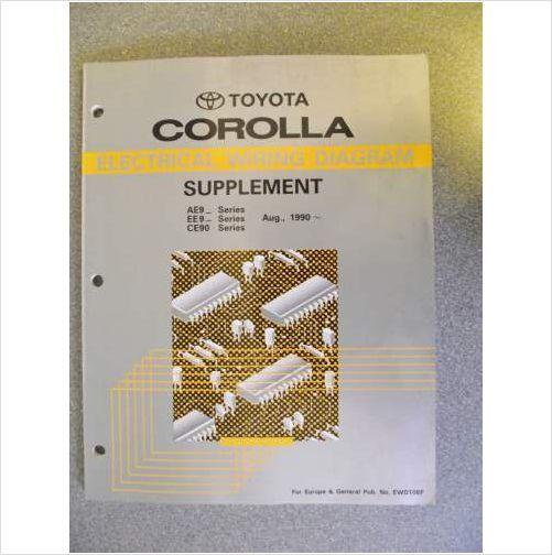 Diagram Also 1990 Toyota Corolla Wiring Diagram On Wiring Books Pdf