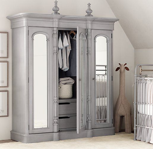 I Love This Chronicles Of Narnia Type Of Wardrobe/armoire From Restoration  Hardware Baby U0026 Child.