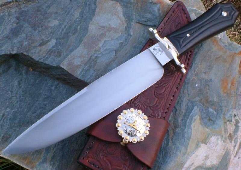 Coffin Handle Bowie Custom Bowie Knives Bowie Cool Knives
