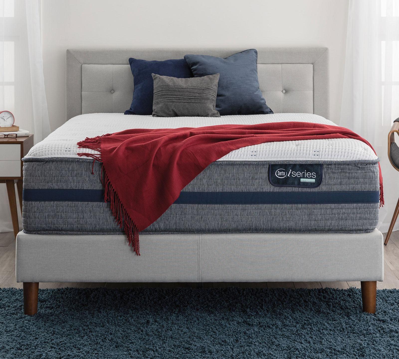 "Serta iSeries Hybrid 500 14"" Cushion Firm Mattress in 2020"