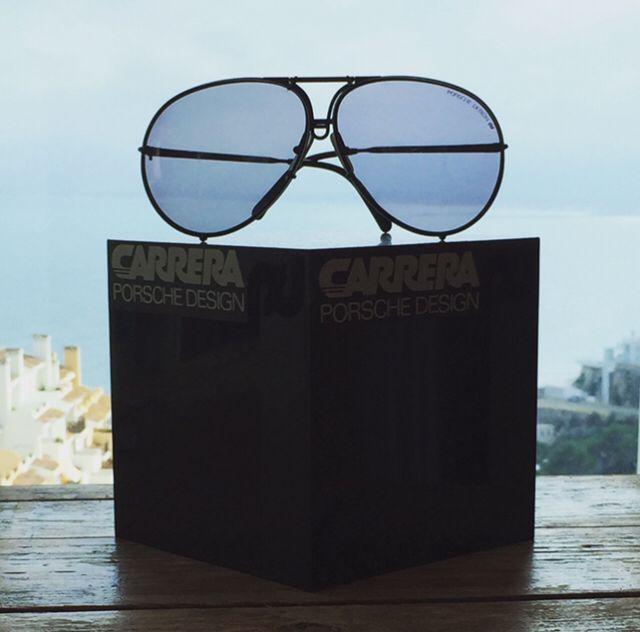 "5b4a1402ee03 Porsche Design by Carrera 5621 ""Black series"" now only 299€   genuine vintage sunglasses"