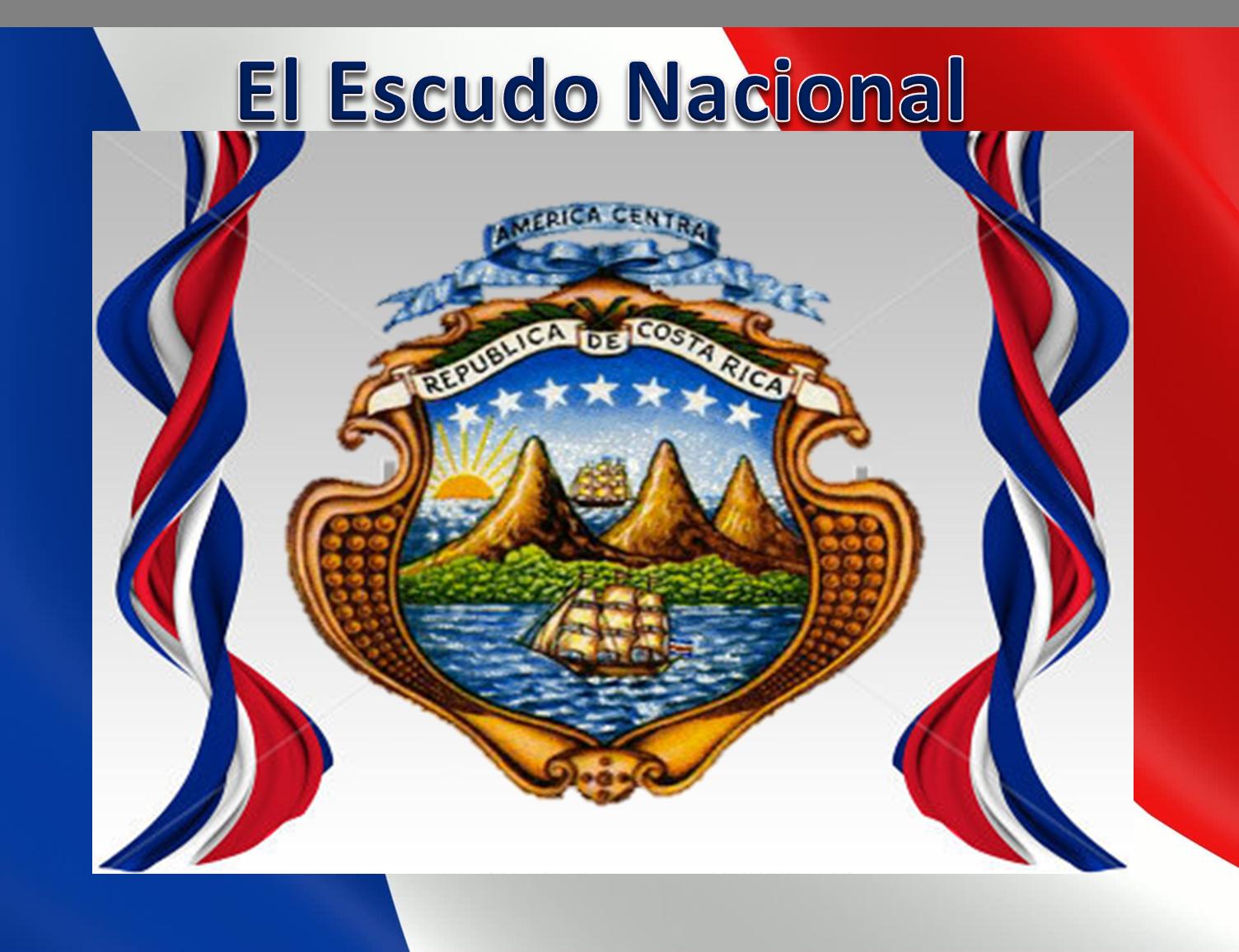 Escudo Nacional De Costa Rica Costa Rica Costa Escuela