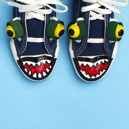 Back To School Activities And Ideas Family Disney Com Diy Shoes Diy Sneakers Crafts