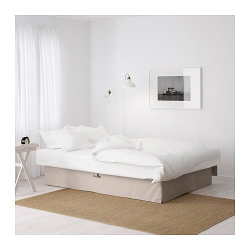 Sleeper Sofas HIMMENE Three seat sofa bed IKEA Assembled size Height including back cushions