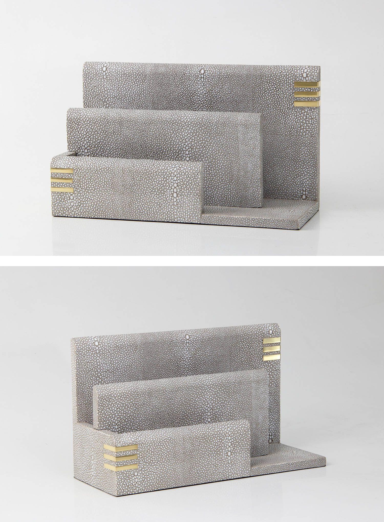 elegant letter furniture design. An Elegant Shagreen \u0026 Letter Rack In Barley Designer Shagreen. Furniture Design N