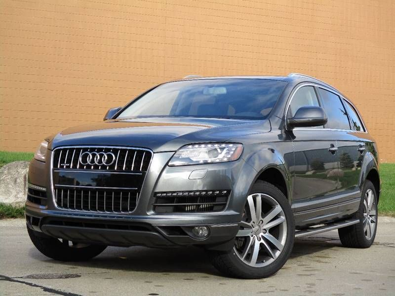 2015 Audi Q7 Awd 3 0 Quattro Tdi Premium Plus V6 Diesel With A Good Carfax And Only One Owner Excellent Service Hisotry And New Tir Audi Q7 Cars For Sale Audi