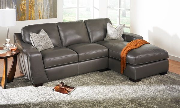 Looking For Something Different Try This Simon Li Leather Sectional At Haynes Leather Sectional Sectional Classic Living Room