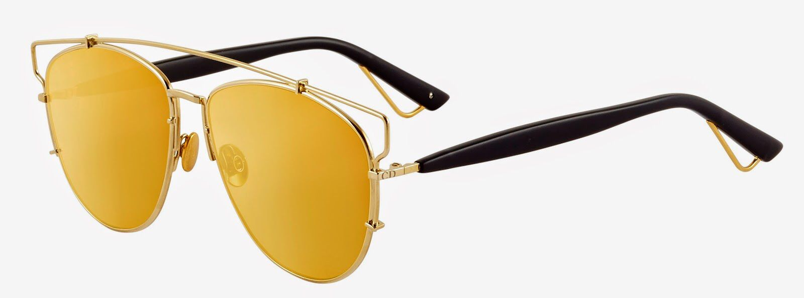 e79c8bac5 Dior Technologic Gold ♥ #sunglasses #love #glamour #brilho #oticas #wanny