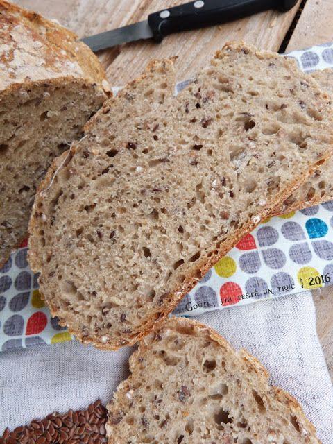Pain d 39 peautre aux petites graines au levain boulange recette pain maison pain et - Machine a chips maison ...