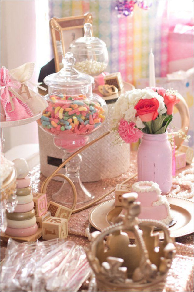 38 Beautiful Princess Decorations For Baby Shower