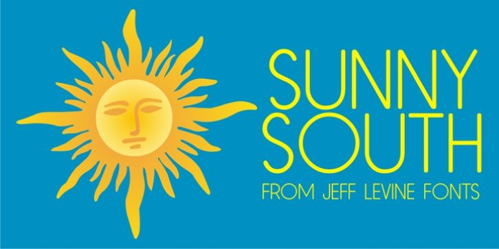 Sunny South JNL font download