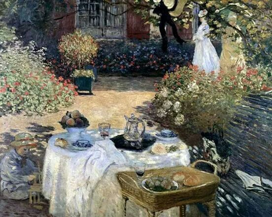 The Lunch Monet