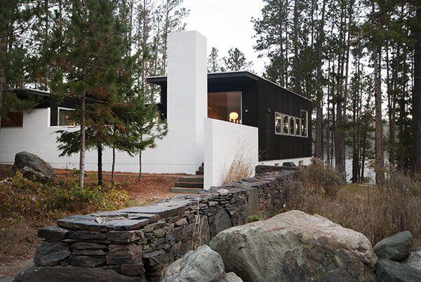 Modern Cabin by Salmela Architects