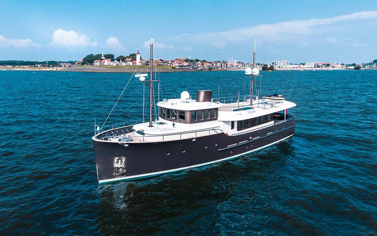 The Hartman Livingstone 24 Yacht | InsideHook | Auto/Boat | Pinterest