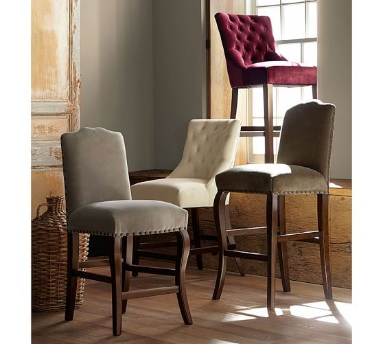 Calais Barstool Counter Height Espresso Stain Frame Performance Fascinating Kitchen Counter Bar Stools Decorating Design