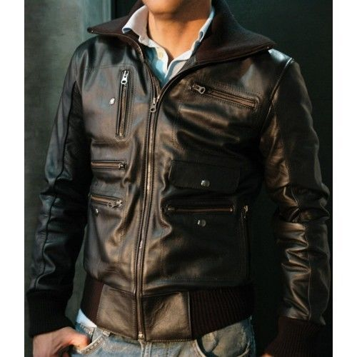 Ehs New Soft Stylish Men S Lambskin Genuine Leather Jacket N102 Nationalleathergodds Basicbikermotorcyclejack With Images Genuine Leather Jackets Leather Jacket Jackets