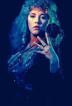 Stevie Nicks   Bella Donna Outtake In Blue Light/