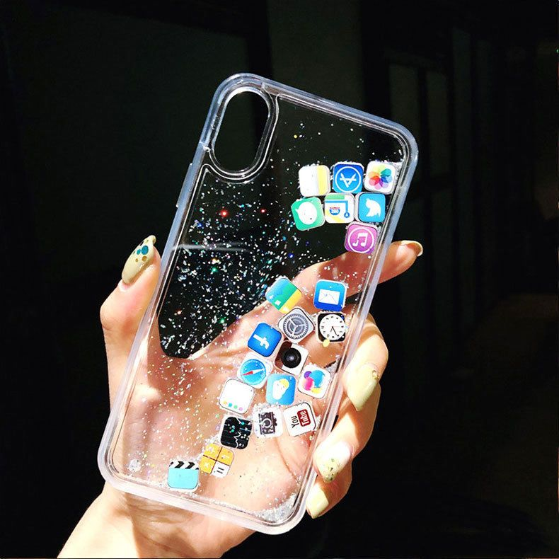 coque iphone 8 waterfall live