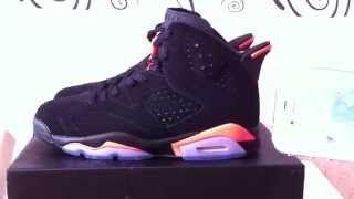 Super Perfect Jordan 6 Black Infrared 2014 3M Review
