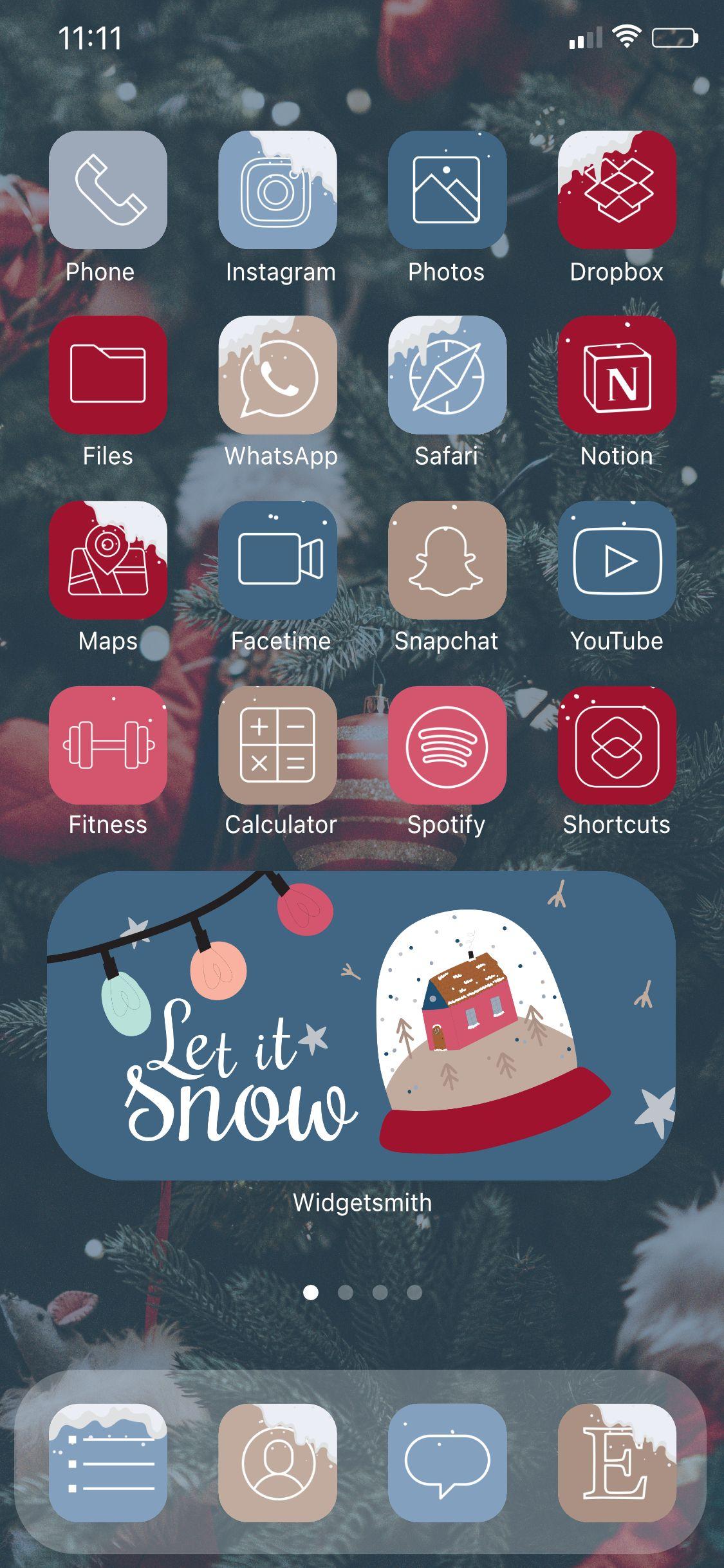 Winter iOS Icons