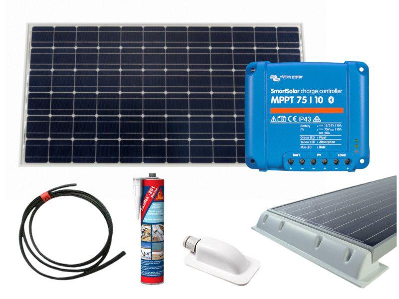 Victron 80w Polycrystalline Solar Panel Kit 10a Mppt Smart Solar Charge Controller Solar Energy Panels Solar Technology Best Solar Panels