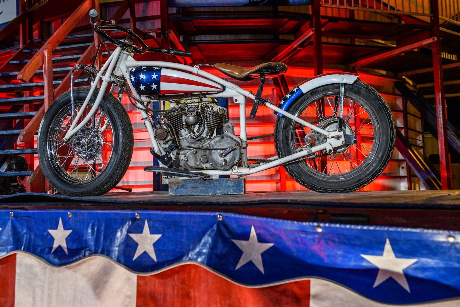"""Racing Cafè: Indian Scout """"Wall of Death"""" - Press Conference @ Sturgis 2014"""