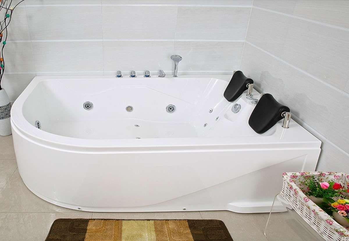 Eckbadewannemit Eckbadewanne Mit Whirlpool Xxl Luxus Whirlpool Badewanne Bali Rechts Mit 14 Massage Dusen Spa In 2020 Bathtub Spa Bali