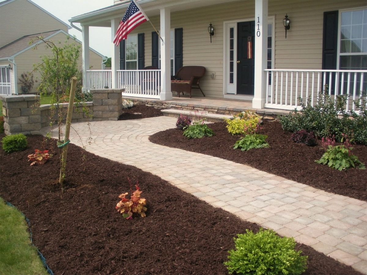 Painting of Learn the Good Ideas to Apply Best Mulch for Landscaping