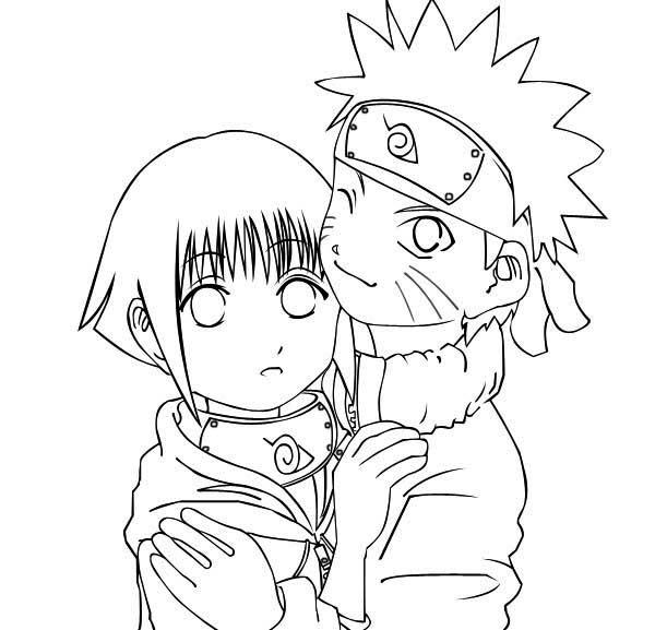 Pin Em Naruto Coloring Page