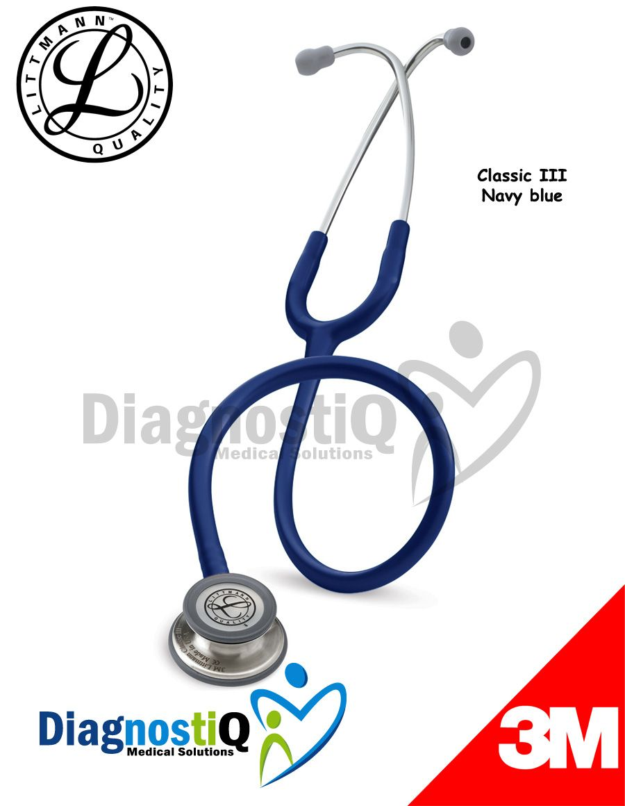Fonendoscopio Littmann Classic Iii Navy Blue Medicine And Surgery