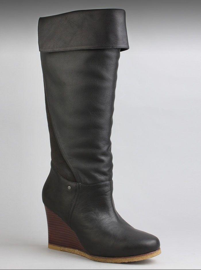 0b48e0e4767 UGG® Australia Ravenna Womens Boot in Black. Get some upscale style ...
