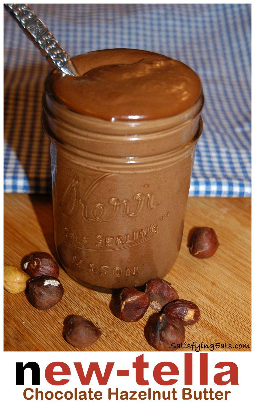 Newtella - home made Nutella