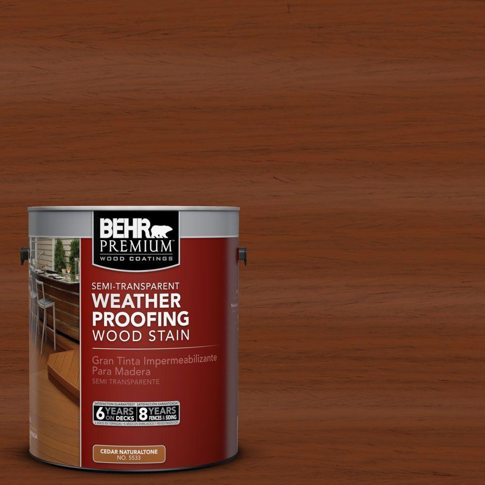 Woodbridge Home Exteriors: BEHR Premium 1 Gal. #ST-116 Woodbridge Semi-Transparent