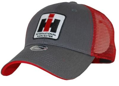 Grey Hat With Red Mesh Farmall